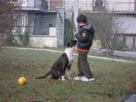 addestramento con Simone