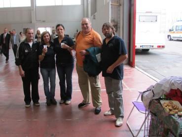 Team Garexium con gli amici Paolo Signori, proprietario di Poison Vom Schutzenrain e Medeghini Italo all. Dei Cieli Aperti