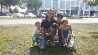 G. Elga-zar in famiglia