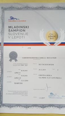 Giovane Campionessa Slovena